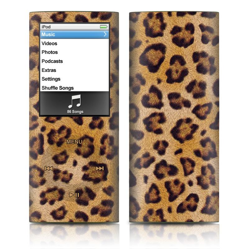 Leopard Spots iPod nano 4th Gen Skin