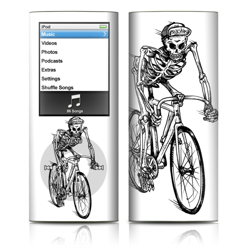 Lone Rider iPod nano 4th Gen Skin