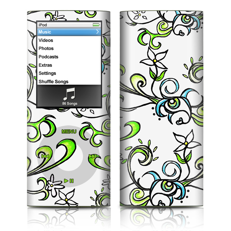 Olga iPod nano 4th Gen Skin
