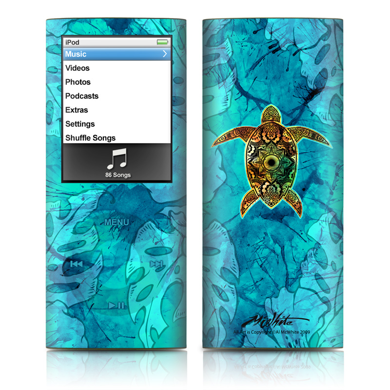 Sacred Honu iPod nano 4th Gen Skin