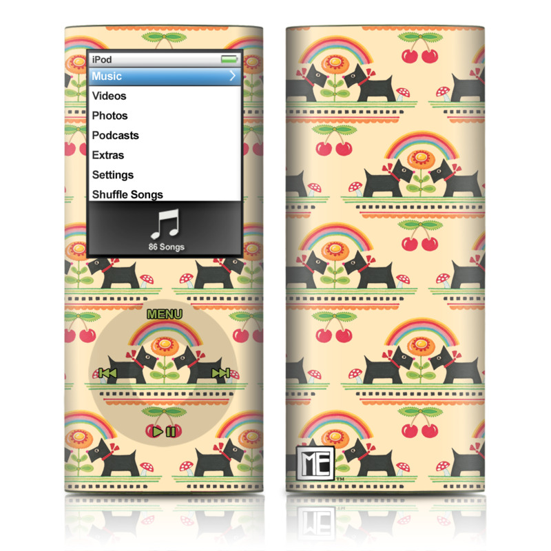 Scotties iPod nano 4th Gen Skin