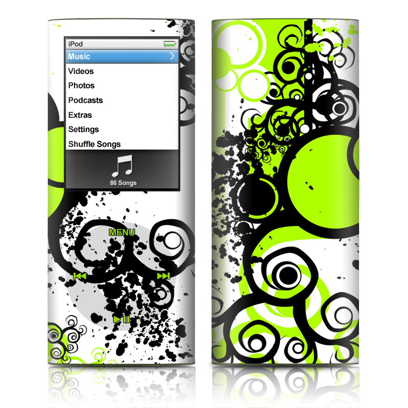 Simply Green iPod nano 4th Gen Skin