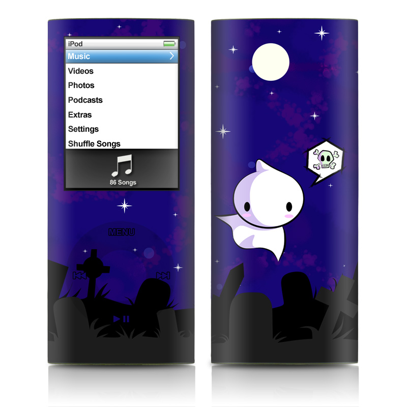 Spectre iPod nano 4th Gen Skin