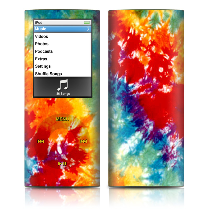 Tie Dyed iPod nano 4th Gen Skin