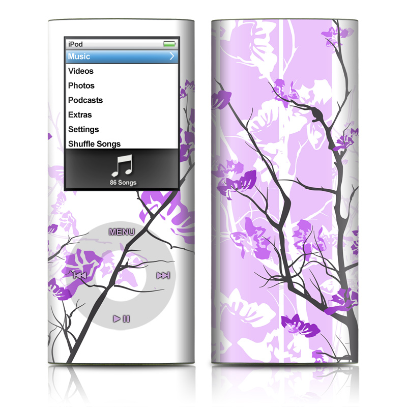 Violet Tranquility iPod nano 4th Gen Skin