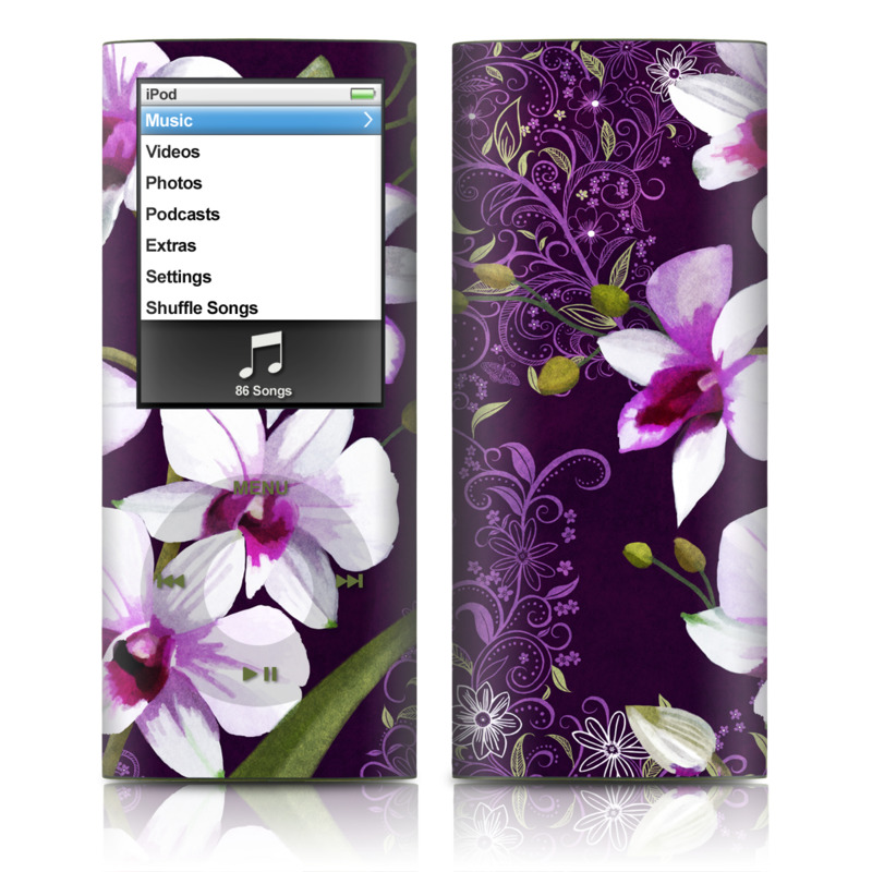 Violet Worlds iPod nano 4th Gen Skin