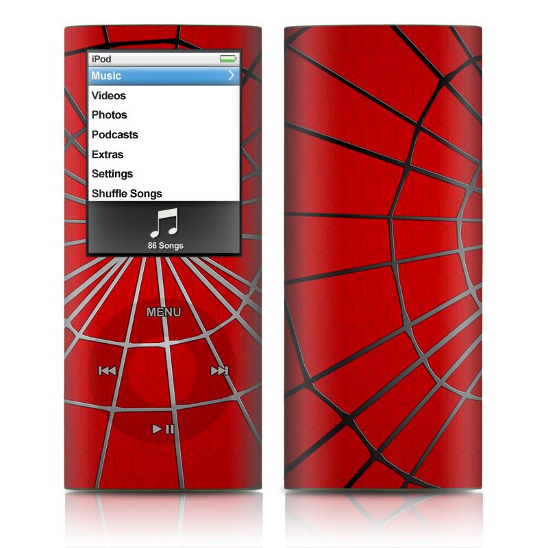 Webslinger iPod nano 4th Gen Skin