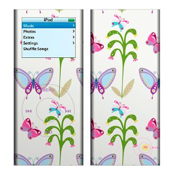 Butterfly Field iPod nano 2nd Gen Skin