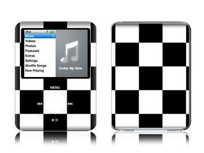 Checkers iPod nano 3rd Gen Skin