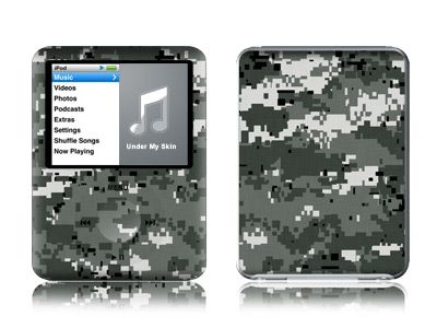 Digital Urban Camo iPod nano 3rd Gen Skin