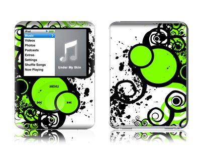Simply Green iPod nano 3rd Gen Skin