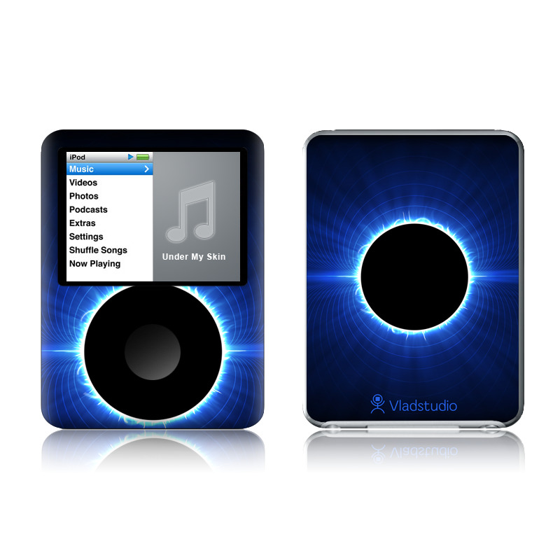Blue Star Eclipse iPod nano 3rd Gen Skin