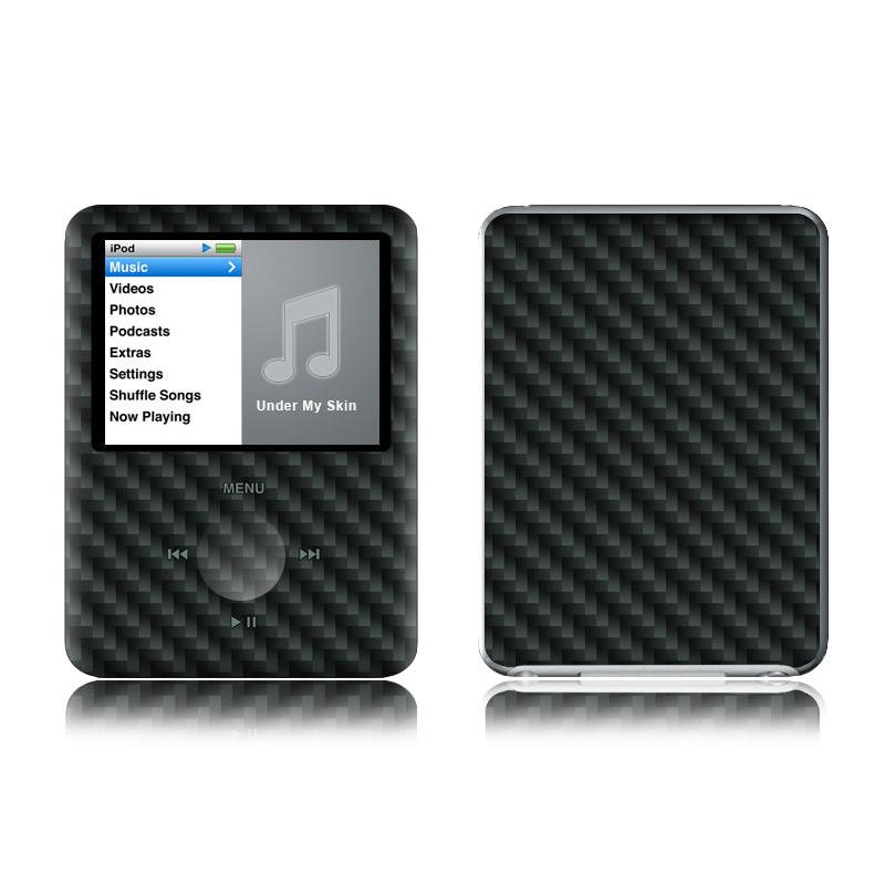 Carbon Fiber iPod nano 3rd Gen Skin