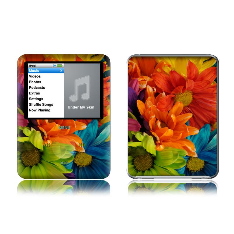 Colours iPod nano 3rd Gen Skin