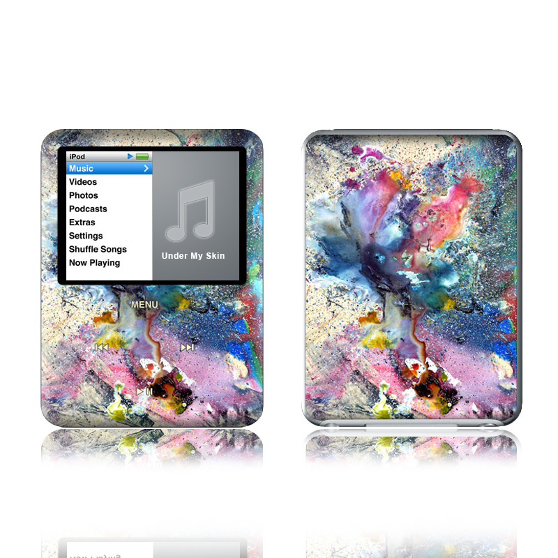 Cosmic Flower iPod nano 3rd Gen Skin