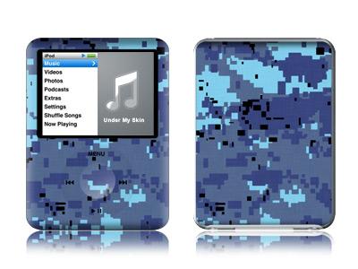 Digital Sky Camo iPod nano 3rd Gen Skin