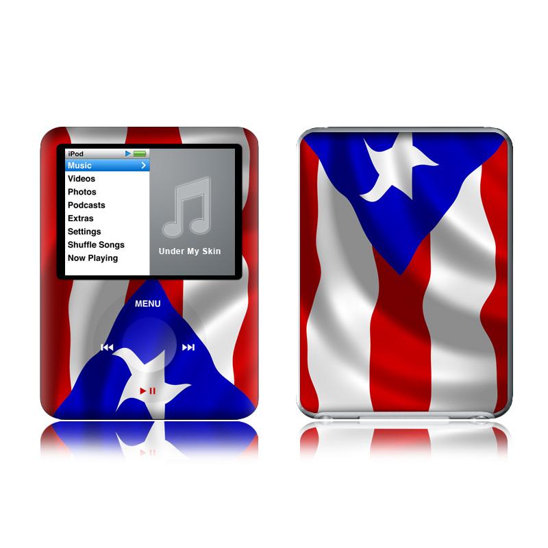Puerto Rican Flag iPod nano 3rd Gen Skin