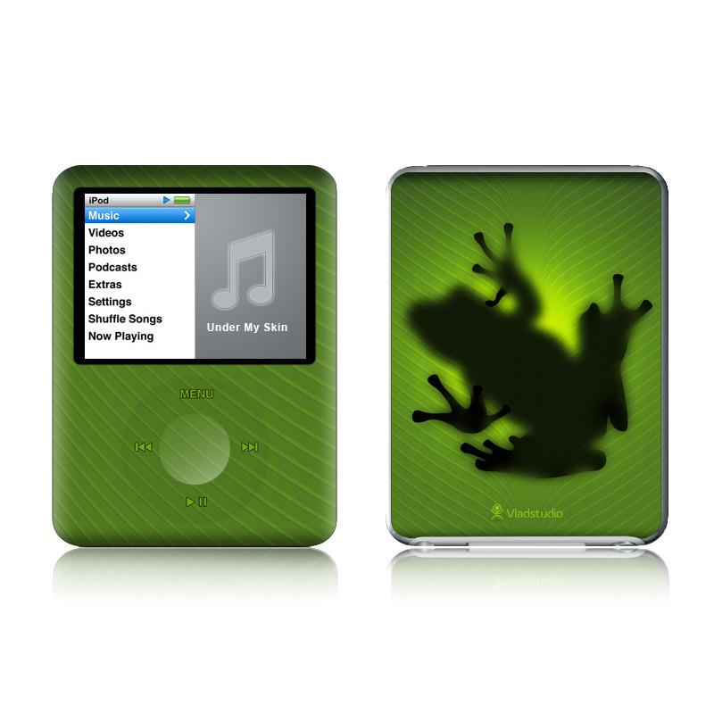 Frog iPod nano 3rd Gen Skin