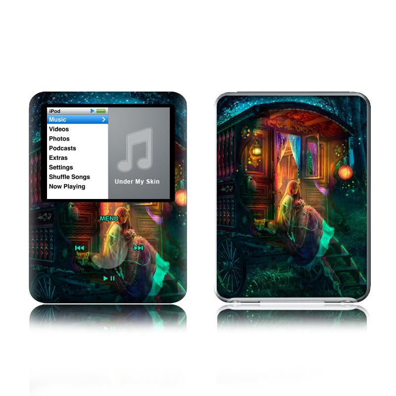Gypsy Firefly iPod nano 3rd Gen Skin