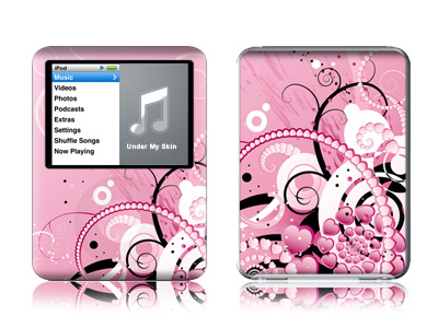 Her Abstraction iPod nano 3rd Gen Skin