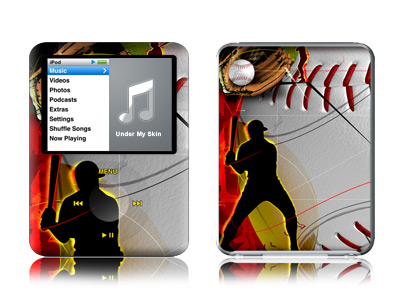 Home Run iPod nano 3rd Gen Skin
