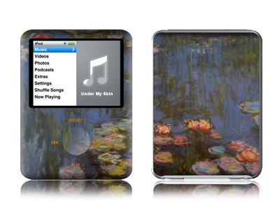 Monet - Waterlilies iPod nano 3rd Gen Skin