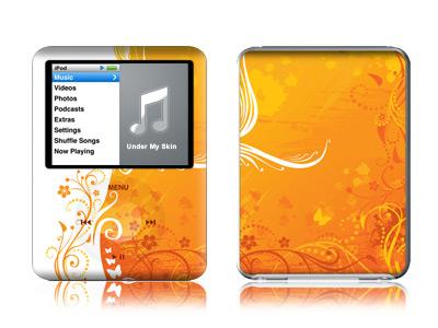 Orange Crush iPod nano 3rd Gen Skin