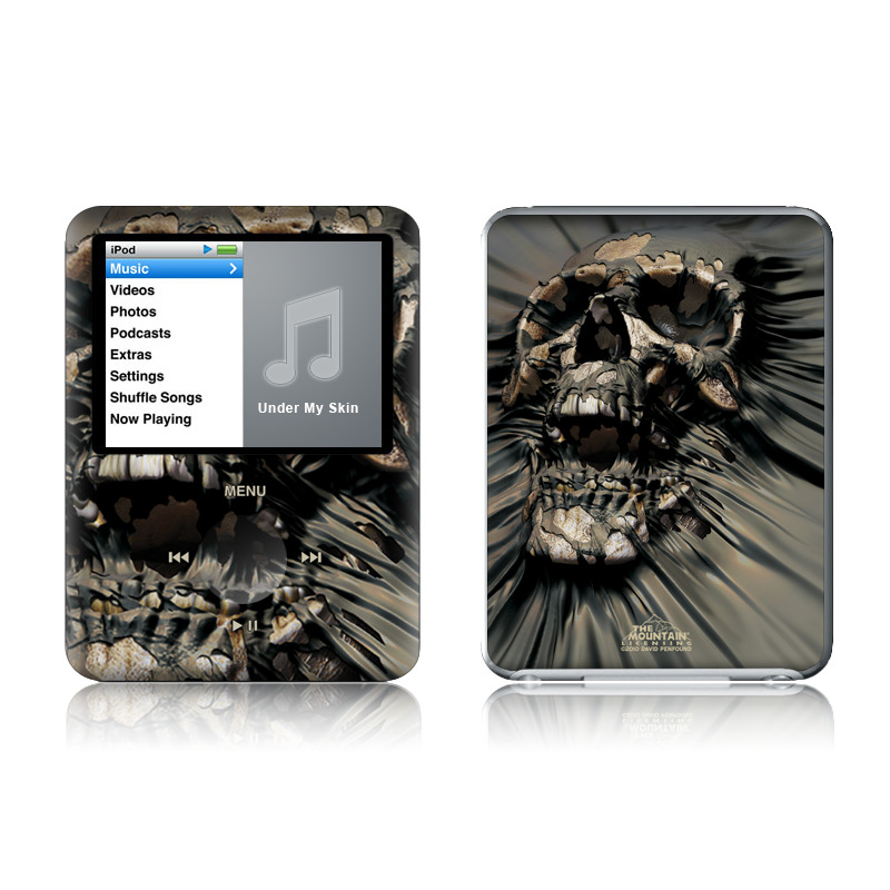 Skull Wrap iPod nano 3rd Gen Skin