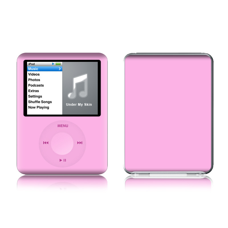 Solid State Pink iPod nano 3rd Gen Skin