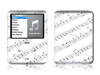 Symphonic iPod nano 3rd Gen Skin