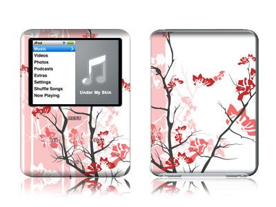Pink Tranquility iPod nano 3rd Gen Skin