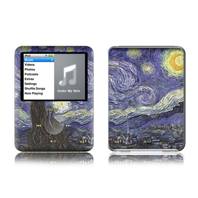 Van Gogh - Starry Night iPod nano 3rd Gen Skin