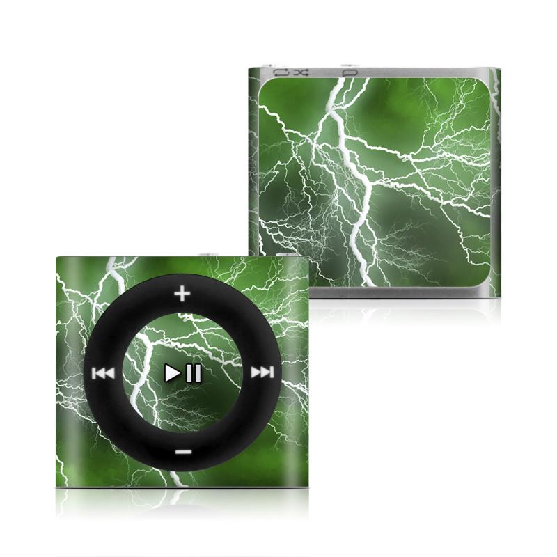 Apocalypse Green iPod shuffle 4th Gen Skin