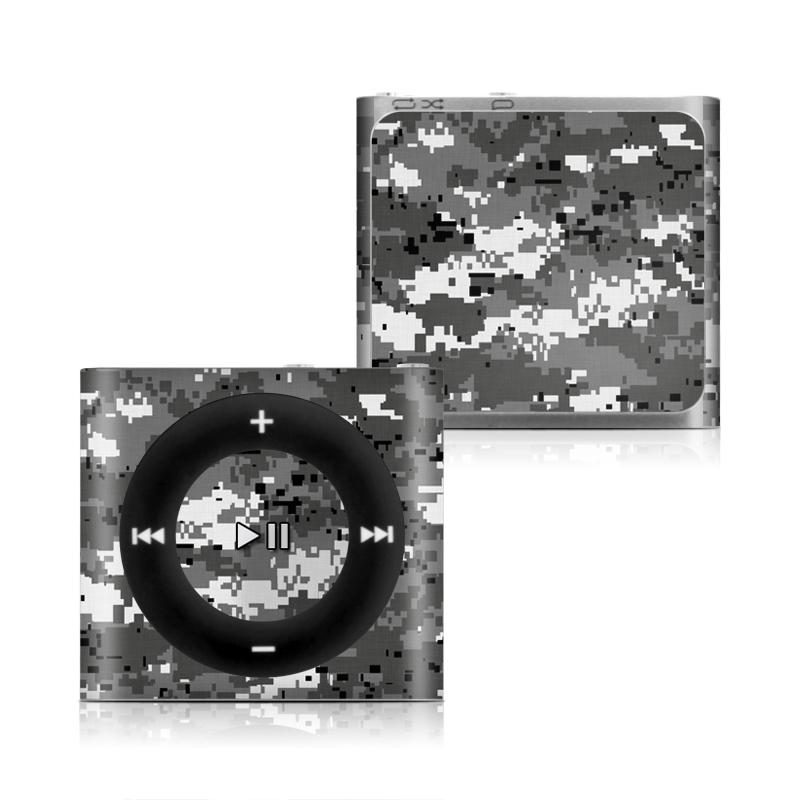 Digital Urban Camo iPod shuffle 4th Gen Skin