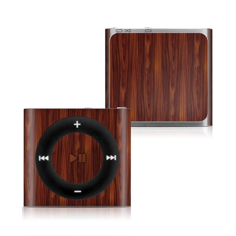 Dark Rosewood iPod shuffle 4th Gen Skin
