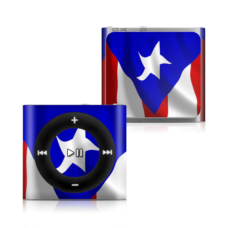 Puerto Rican Flag iPod shuffle 4th Gen Skin