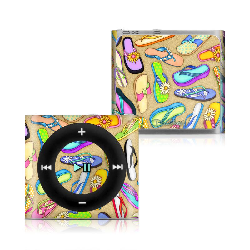 Flip Flops iPod shuffle 4th Gen Skin