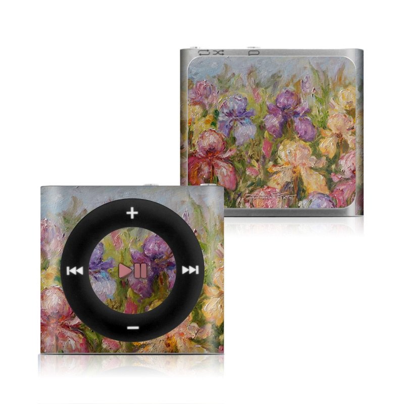 Field Of Irises iPod shuffle 4th Gen Skin