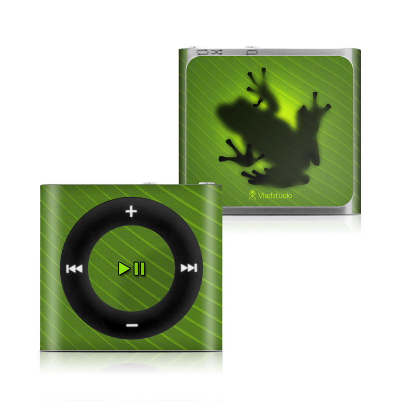 Frog iPod shuffle 4th Gen Skin