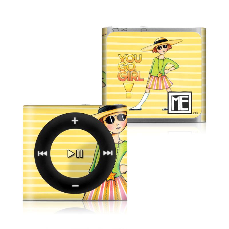 You Go Girl iPod shuffle 4th Gen Skin