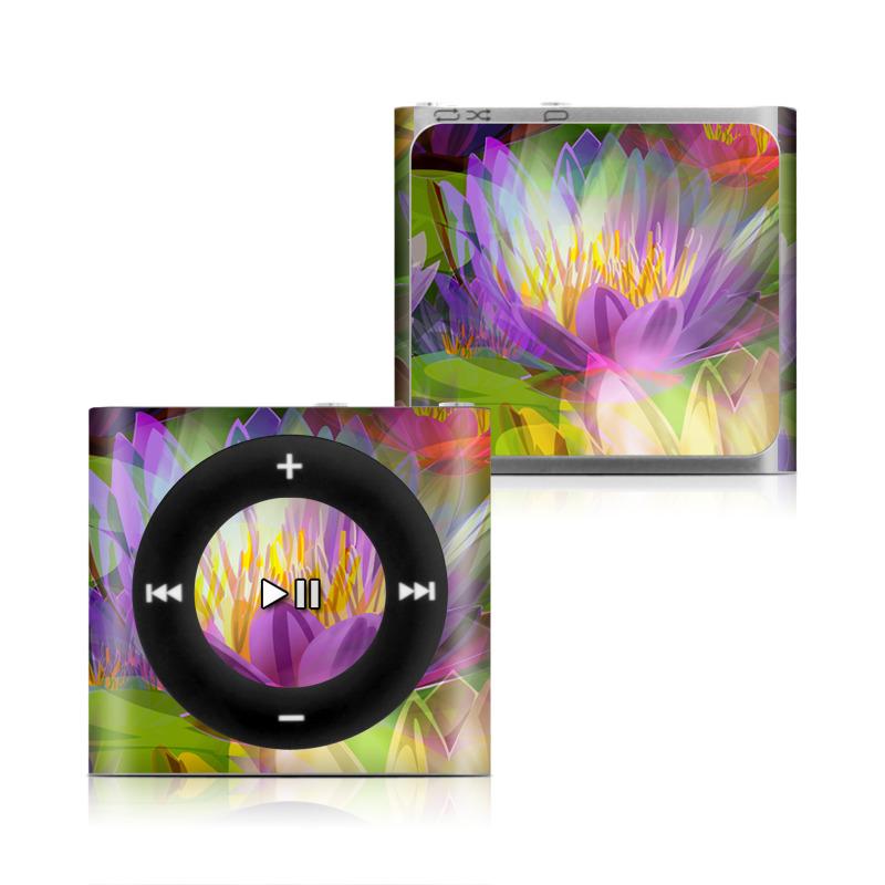 Lily iPod shuffle 4th Gen Skin