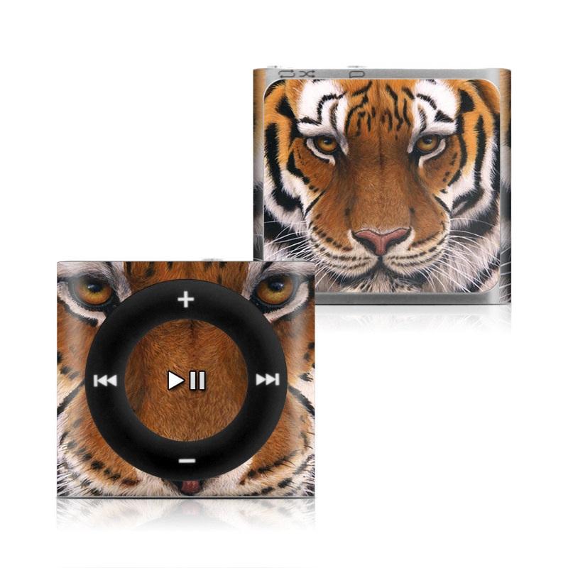 Siberian Tiger iPod shuffle 4th Gen Skin