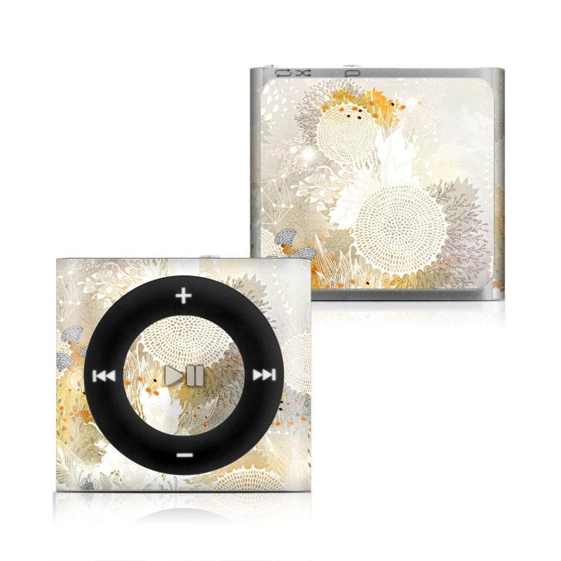 White Velvet iPod shuffle 4th Gen Skin