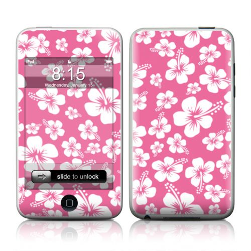 Aloha Pink iPod touch Skin | iStyles iPad Skins, iPhone Skins, iPod Skins,