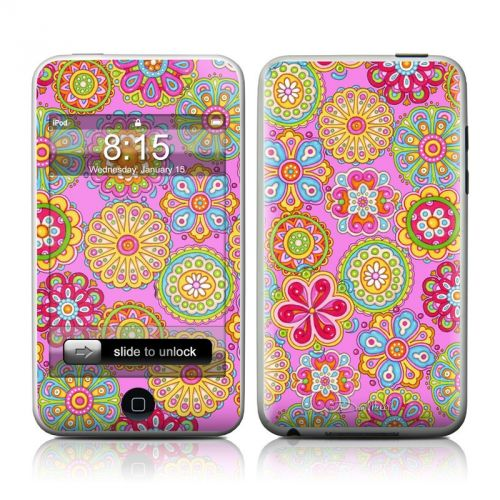Bright Flowers iPod touch Skin