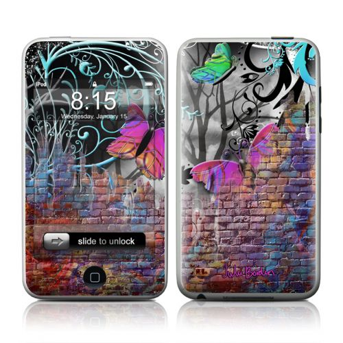 Butterfly Wall iPod touch Skin
