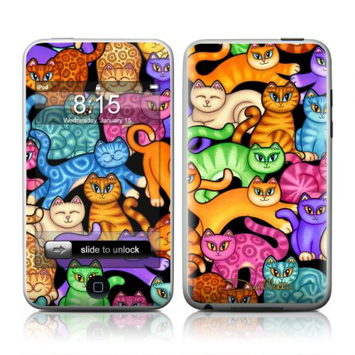 Colorful Kittens iPod touch Skin