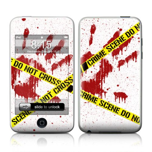Crime Scene Revisited iPod touch Skin
