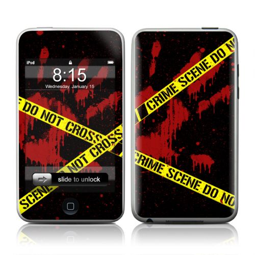 Crime Scene iPod touch Skin