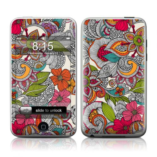 Doodles Color iPod touch Skin